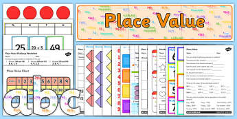 Place Value Resource Pack - place value, resource pack, place value resources, place value pack, numeracy, maths, numeracy pack, numbers, values