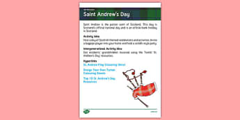 Elderly Care Planning November 2016 St Andrew's Day - Elderly Care, Calendar Planning, Care Homes, Activity Co-ordinators, Support, November 2016