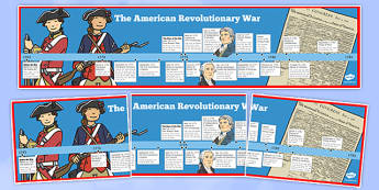 USA Revolutionary War Timeline - US Resources, Revolutionary War, Timeline