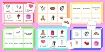 Adult Education Valentine's Day Bingo - Elderly, Reminiscence, Care Homes, Valentine's Day