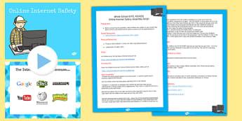 E Safety Assembly Pack - e safety, assembly, pack, safe, online, internet