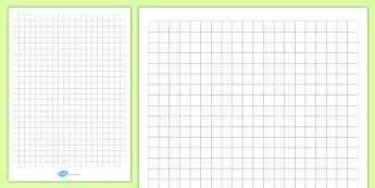 1cm Squared Editable Paper - paper, square, squared, grid, dt, maths, design, graph