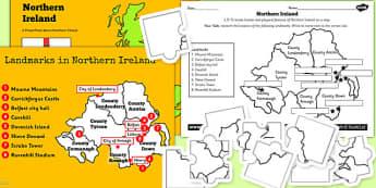 Northern Ireland UK Lesson Teaching Pack - united kingdom, UK