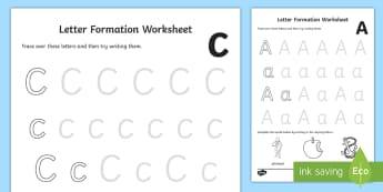 Letter Formation Activity Sheets (a-z) - Letter Formation Activity Sheets (a-z) - Handwriting, letter formation, writing practice, foundation