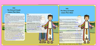 Joseph Lesson Plan Ideas KS2 - joseph, lesson plan, lesson plan idea, lesson ideas, lesson planning, teaching plan, KS2, key stage 2, KS2 lesson ideas