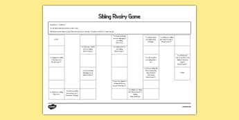 Siblings Editable Board Game