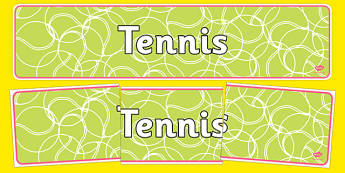 The Olympics Tennis Display Banner - Olympics, Olympic Games, sports, Olympic, London, 2012, tennis, display, banner, poster, sign, Olympic torch, flag, countries, medal, Olympic Rings, mascots, flame, compete, tennis, athlete, swimming, race,