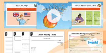 PlanIt Y4 Explorers: James and the Giant Peach Lesson Pack Persuasive Writing (4) - Roald Dahl, formal letter, y4, year 4, ks2, literacy, english,