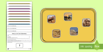 What's on the Tray? Safari Animals Photo Memory Activity Pack - safari animals, photo, Memory Game, Working Memory, Teachers of the Deaf, deaf friendly, deaf, heari