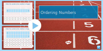 Pre-Entry Level Ordering Numbers 1-20 PowerPoint - Key Stage 4 Entry Level, numbers, maths, numeracy skills, order, support