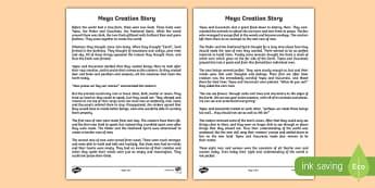 Mayan Civilization Creation Story Print Out - ancient maya, mayan