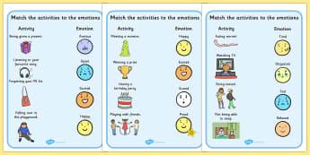 Emotions Activity Worksheets - activities, worksheet, feelings