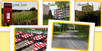 Out and About Photo Pack - outside, travel, towns, cities, early years, ks1, key stage 1, nature, visual aid, images, photographs, display
