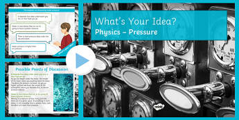KS3 Pressure What's Your Idea? PowerPoint