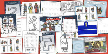 Babushka Resource Pack - Russian, activities, activity, doll