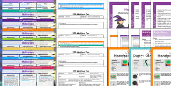 EYFS Halloween Bumper Planning Pack