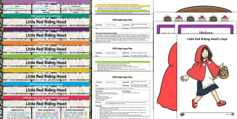 EYFS Little Red Riding Hood Bumper Planning Pack - Little Red Riding Hood, early years planning, adult led, continuous provision, enhancements