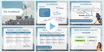 Conditional PowerPoint - French