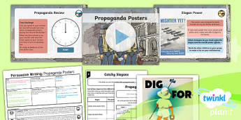 PlanIt Y5 World War II: Battle of Britain Lesson Pack Persuasive Writing (2)