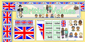 British Values Display Pack - display, pack, british, values