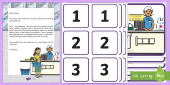 Supermarket Checkout Counting Activity Resource Pack - EYFS, Early Years Planning, Adult Led, Mathematics, Maths,  40-60, Selects The Correct Numeral To Re