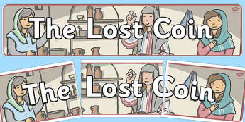The Lost Coin Display Banner - lost coin, display banner, display
