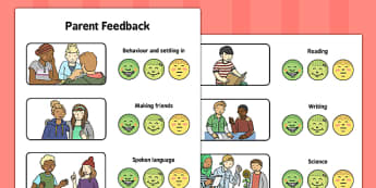 Parent Feedback - parent feedback, parent, feedback, eal, communication