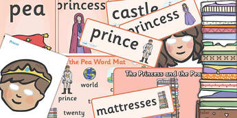 The Princess and the Pea Story Sack - princess and the pea, story