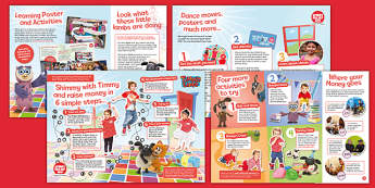 Sport Relief 2016: Nursery Activity Pack (Nursery) - sport relief 2016, activity