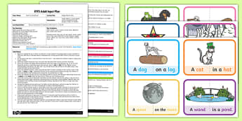 EYFS Magic Rhyme Time Adult Input Plan and Resource Pack to Support Teaching on Room on the Broom