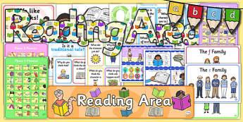 KS1 Reading Display Pack - ks1, reading, display pack, display, pack, english