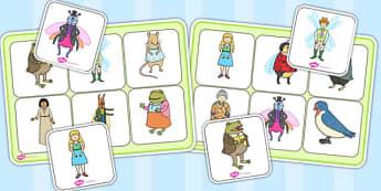 Thumbelina Matching Mat SEN - stories, story books, SEN, match