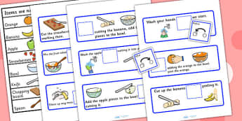 Before And After Fruit Salad Recipe - preposition, position, SEN