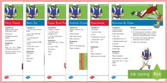 Super Bowl Tailgate Classroom Recipe - Super Bowl 2017, Classroom Recipes, Recipes, Kid-Friendly, No Bake, Math Skills, Literacy Skills, Ta