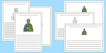 Saint Andrew's Day Writing Frames