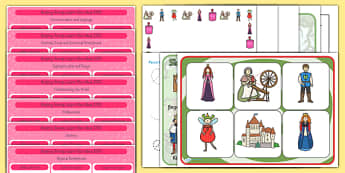 EYFS Sleeping Beauty Lesson Plan and Enhancement Ideas - stories, lesson ideas