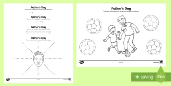 Father's Day Pencil Control Activity Sheets - father's day, tracing, pencil control, dad, daddy, ,Australia