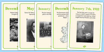 The Irish War of Independence Display Posters - roi, irish, gaeilge, irish war of independence