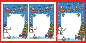 Editable Note From Teacher (Christmas Themed) - editable note from teacher, christmas themed, xmas, note from teacher, notes, note, comment, parent, teachers, editable