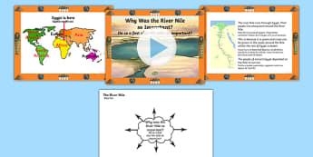 Importanța râului Nil - Prezentare PowerPoint