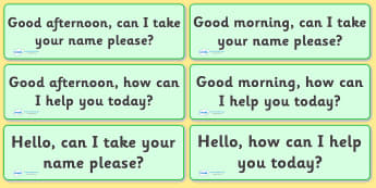 The Office Role Play Customer Help Prompts Cards - the office, office, prompt, cards, customer help, flashcards, prompts, workplace, help desk, manager, phone operator, role play, play, reception, paper, work