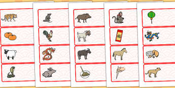 Drawer Labels Chinese New Year - australia, chinese, new year
