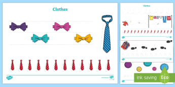 Clothes-Themed Pencil Control Activity Sheets - EYFS, Early Years, Clothes, Clothing, Physical Development, Fine Motor Skills, Pencil Control, Lette