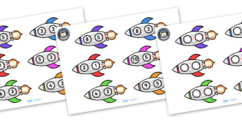 Space Rocket Subtraction Worksheets - worksheets, worksheet, work sheet, space rocket, space, rockets, subtraction rockets, space subtraction, numeracy, sums, outer space, moon, in space, sheets, activity, writing frame, filling in, writing activity
