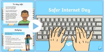 KS1 Safer Internet Day Information PowerPoint - Safer Internet Day, Internet safety, online safety