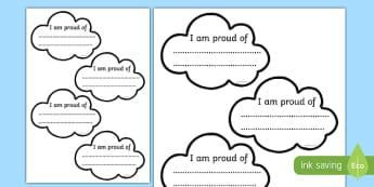 Proud Cloud Display Pack Proud Cloud Template - proud cloud, display pack