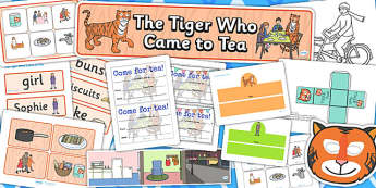 Childminder The Tiger Who Came to Tea Resource Pack - childminder
