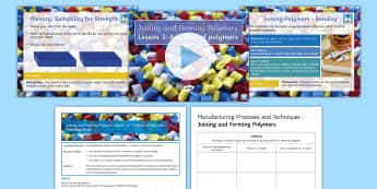 Manufacturing Processes - Joining and Forming Polymers: Lesson 3 Addition  Lesson Pack  - Key Stage 4, Design & technology, design process, GCSE, design & technology, design project, iterati