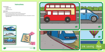 Transport-Themed Mark Making Image Reveal Activity - Transport-Themed Mark Making Image Reveal Activity , gloop, , finger painting, fine motor skills,tra