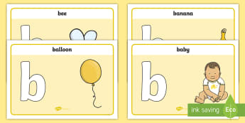 Initial b Sound Playdough Mats - Initial a Sound Playdough Mats - phonics, letters and sounds, phonemes, phase 2, EYFS, phonems, phin